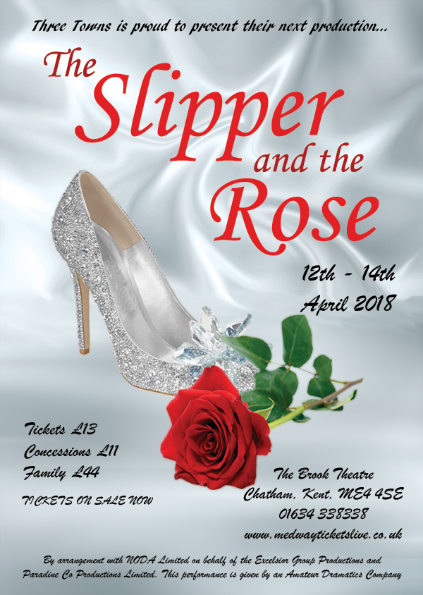 The Slipper and the Rose - The Brook Theatre - 12-14 April 2018