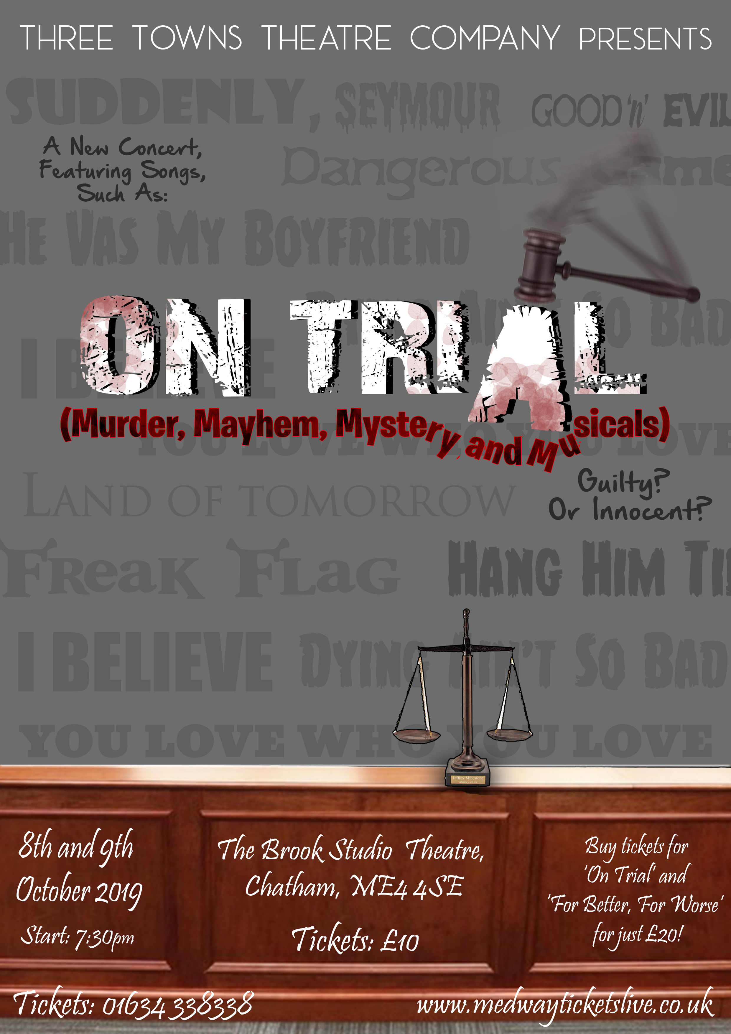 On Trial Jukebox Musical