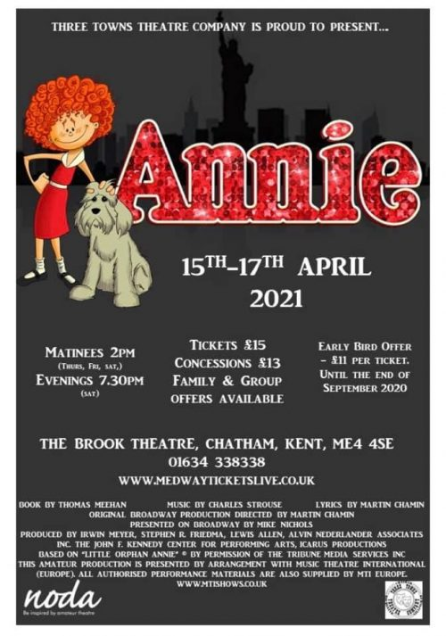 Three Towns - Annie 2021